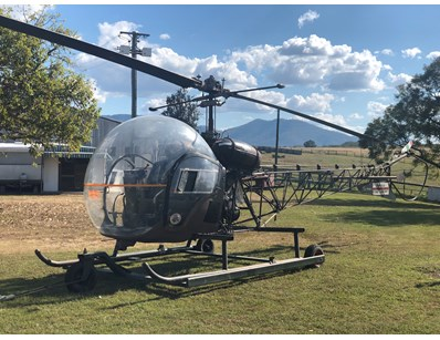 Augusta-Bell 47 G2 Helicopter (ON1148) - Lot 2