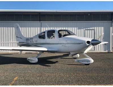 2002 Cirrus SR20 Aircraft Tender (T070) - Lot 1